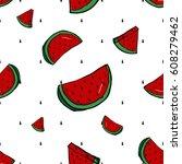 seamless pattern background...   Shutterstock .eps vector #608279462