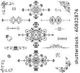 adornment   Shutterstock .eps vector #60832876