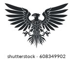 vector illustration of coat of... | Shutterstock .eps vector #608349902