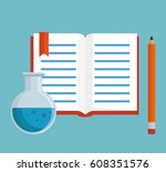 education concept elements icon | Shutterstock .eps vector #608351576