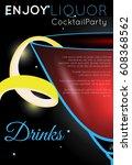 Cosmopolitan Cocktail Close Up...