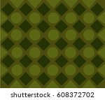pattern with dark diamonds and... | Shutterstock .eps vector #608372702