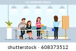 vector illustration young adult ...   Shutterstock .eps vector #608373512
