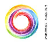 Abstract Color Wheel ...