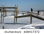 Ice Damage To Docks And Piling...
