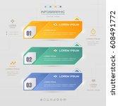 infographics design template... | Shutterstock .eps vector #608491772
