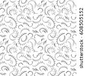 seamless pattern background.... | Shutterstock .eps vector #608505152