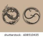 set vector illustration of... | Shutterstock .eps vector #608510435