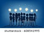 find team members. teamwork to... | Shutterstock .eps vector #608541995