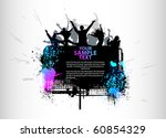 party peoples background | Shutterstock .eps vector #60854329