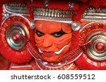 kannur   india   february 5 ... | Shutterstock . vector #608559512