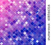 colorful mosaic. abstract... | Shutterstock .eps vector #608566316
