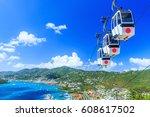 caribbean  st. thomas  usvi....   Shutterstock . vector #608617502