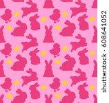 seamless vector pattern of...   Shutterstock .eps vector #608641052