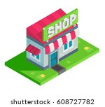 a vector illustration of... | Shutterstock .eps vector #608727782