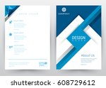 cover design vector template... | Shutterstock .eps vector #608729612