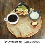 muesli | Shutterstock . vector #608780408