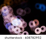 bokeh light | Shutterstock . vector #608782952