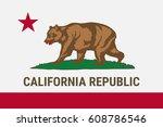flag of california american... | Shutterstock .eps vector #608786546