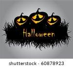 halloween illustration | Shutterstock .eps vector #60878923