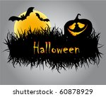 halloween illustration   Shutterstock .eps vector #60878929