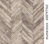 seamless wood parquet texture ... | Shutterstock . vector #608797562