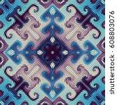 seamless background pattern.... | Shutterstock .eps vector #608803076