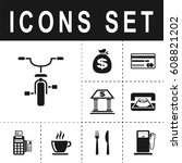 bicycle sign icon   Shutterstock .eps vector #608821202