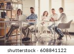 successful young business...   Shutterstock . vector #608841122