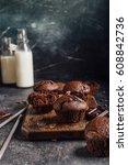 Chocolate Muffins For Dessert