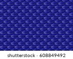 navy blue background  seamless... | Shutterstock .eps vector #608849492