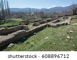 ruins of the ancient greek city ... | Shutterstock . vector #608896712