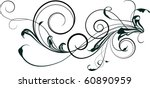 element of ornament | Shutterstock .eps vector #60890959