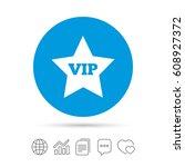 vip sign icon. membership...   Shutterstock .eps vector #608927372