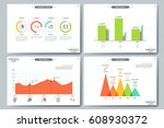 financial data visualization... | Shutterstock .eps vector #608930372