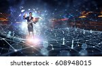 technologies that impress | Shutterstock . vector #608948015