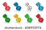 vector game illustration. six...   Shutterstock .eps vector #608953976