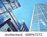 modern office building | Shutterstock . vector #608967272