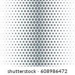 vector halftone dots pattern.... | Shutterstock .eps vector #608986472