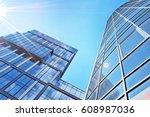 modern office building | Shutterstock . vector #608987036