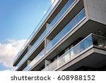 modern  luxury apartment... | Shutterstock . vector #608988152