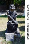 Small photo of Statue of the Aztec God of Flowers