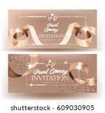 royal design grand opening... | Shutterstock .eps vector #609030905