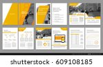 design annual report vector... | Shutterstock .eps vector #609108185