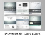 business templates for tri fold ... | Shutterstock .eps vector #609116096