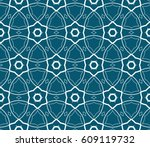 abstract repeat backdrop.... | Shutterstock .eps vector #609119732
