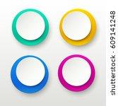 paper labels 01 | Shutterstock .eps vector #609141248