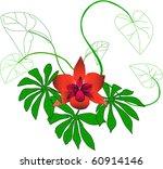 magical flower | Shutterstock .eps vector #60914146