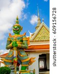 bangkok thailand   march 18... | Shutterstock . vector #609156728