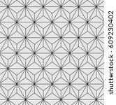 pattern vector  graphic... | Shutterstock .eps vector #609230402